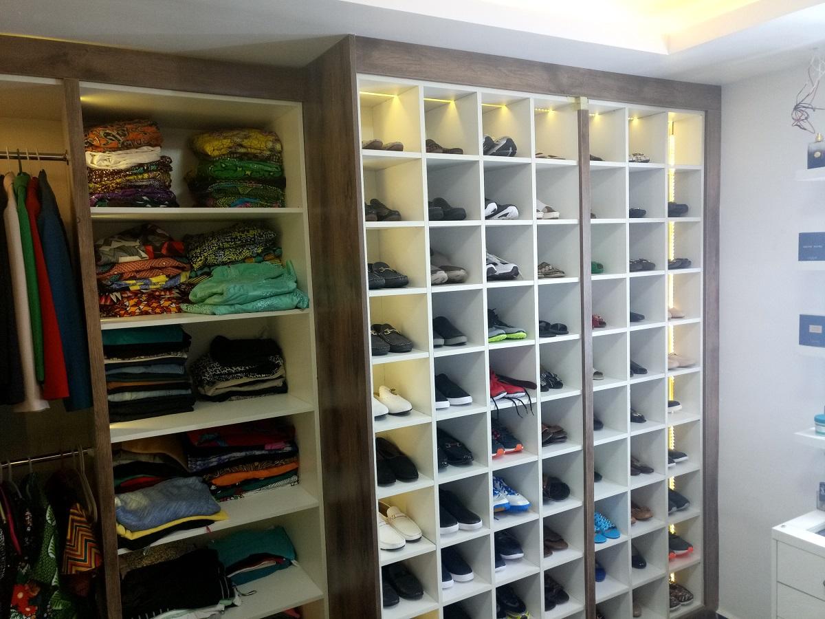 Luxury Shoe Rack