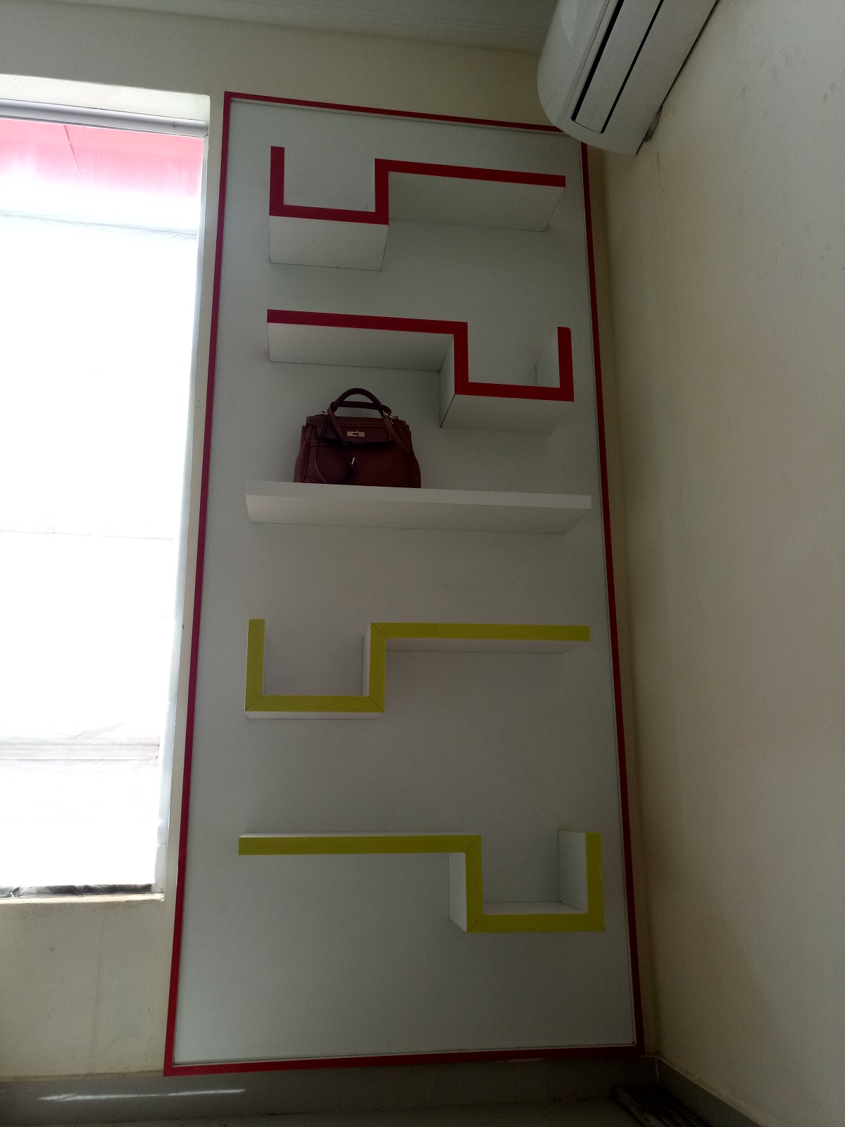 Creative Minimalist Display Shelf