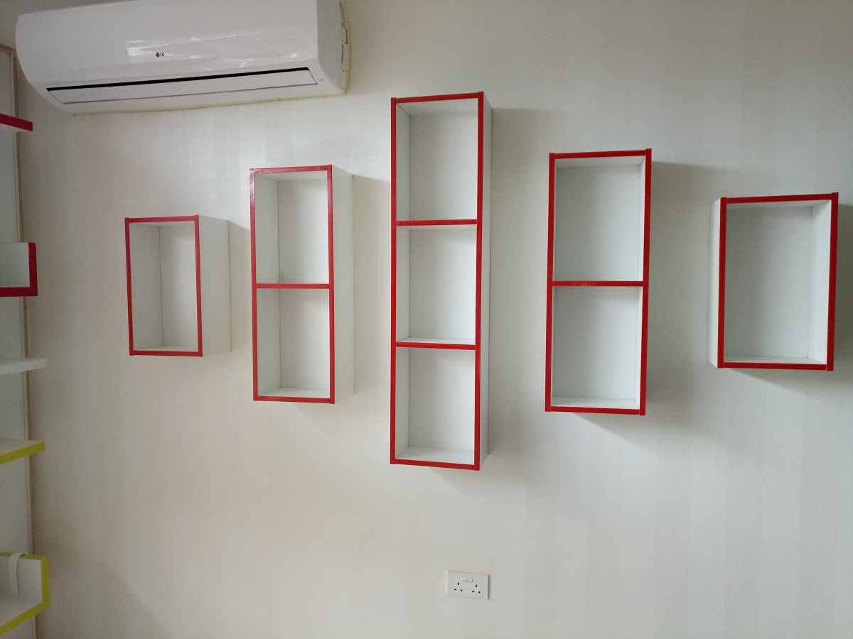 Creative Wall Display Shelf