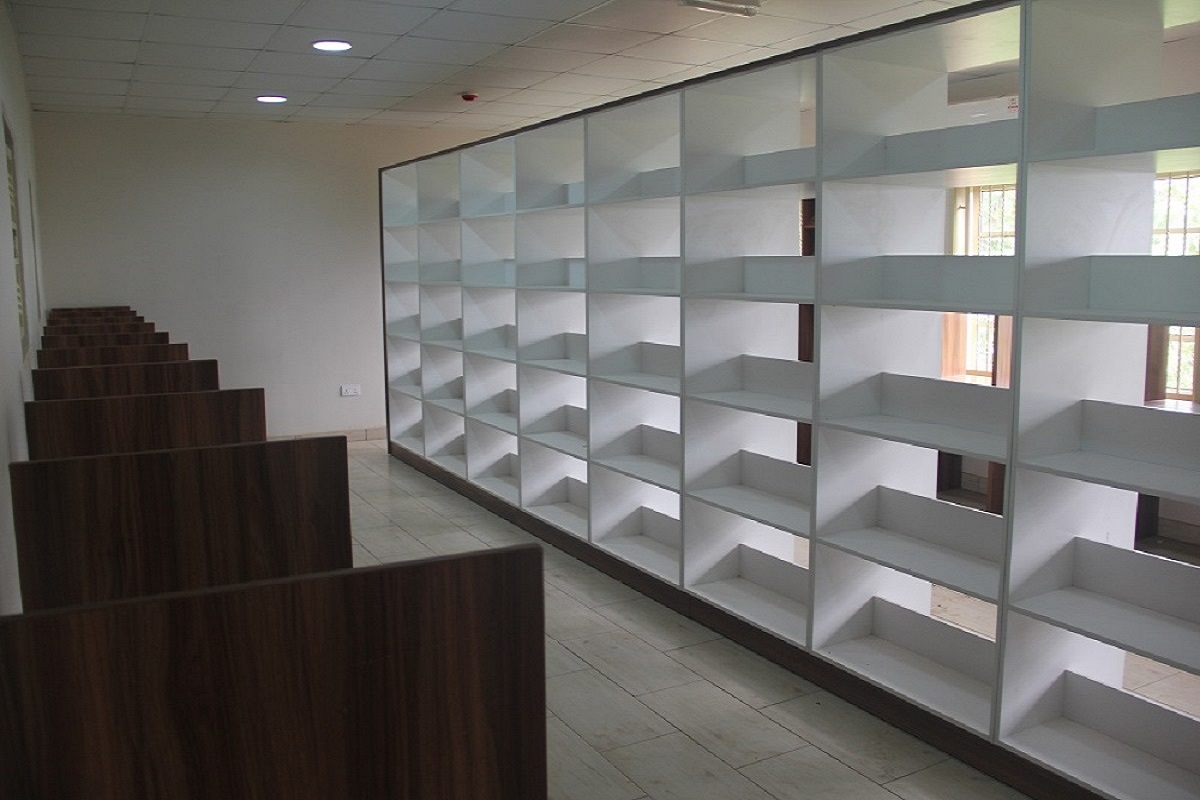 Library shelves and Cubicles