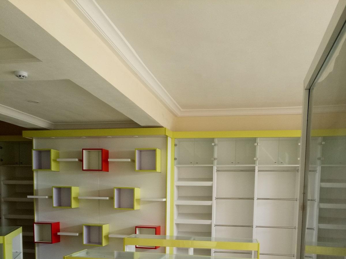 Trendy Display Shelves